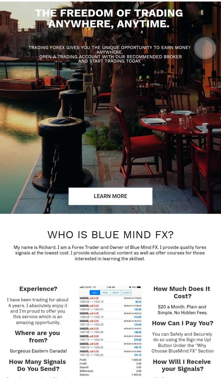 Blue mind FX review, are they offering a good signal, read