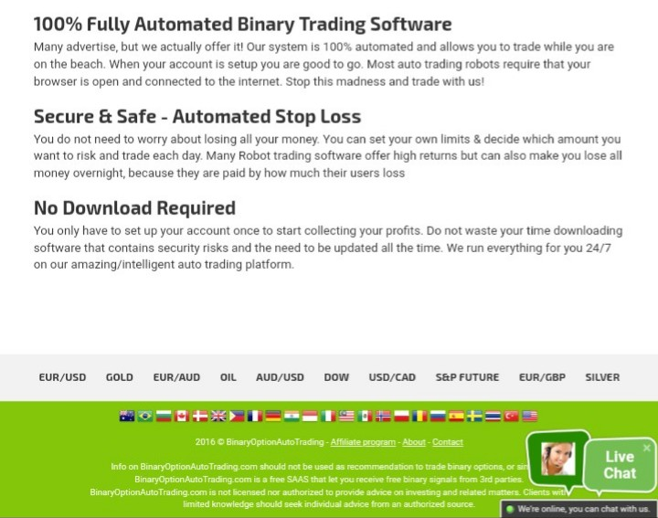 Filipino binary traders